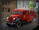 Раритерные автомобили представят на выставке пожарной техники