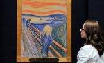 """Знаменитая картина Мунка """"Крик"""" будет выставлена в Музее современного искусства в Нью-Йорке"""