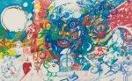 Выставка рисунков пациентов психиатрической больницы проходит в Краснодаре