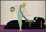 Легендарная владелица парижских кабаре выставляет на торги работы Эрте