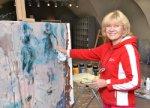 Белорусская художница «остановит время» в Москве