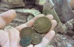При реставрации подмосковной усадьбы Пущино-на-Наре найдено 380 старинных монет