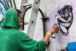 В Петербурге открылась первая легальная стена для граффити