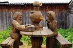 Тотьма: фестиваль деревянной скульптуры